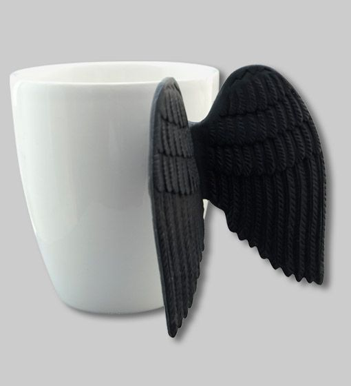 Angel time mug by Pylones. I have one of those and everybody always asks about it!