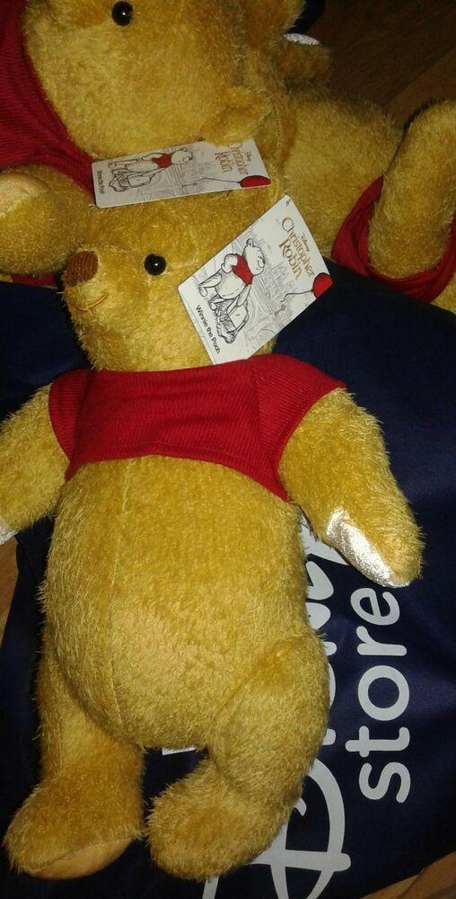 Disney Christopher Robin Live Action Movie Winnie The Pooh 17