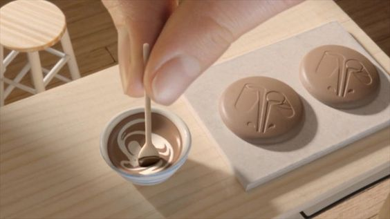 A post from Digital Canvas - This diminutive kitchen set is where Cadbury buttons are made! These bite-sized chocolate drops were a staple of my childhood so it's really great to finally see where they come from.