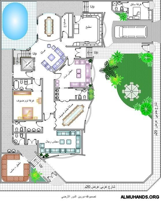 تصاميم معماريه الصفحة 4 House Floor Design Luxury House Designs My House Plans