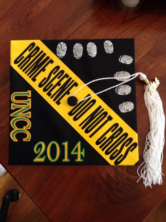 Criminal Justice Graduation Cap Designs Part Two