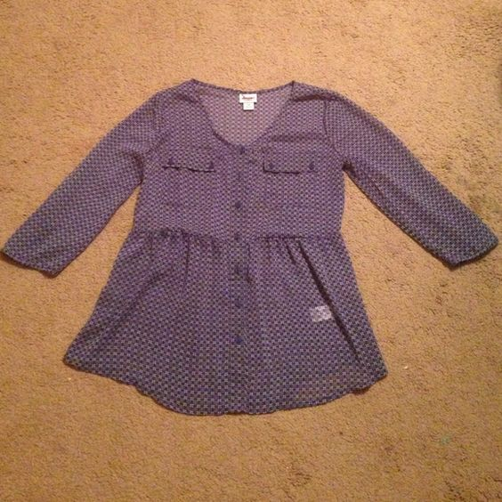 Cute top Never worn Mossimo Supply Co Tops
