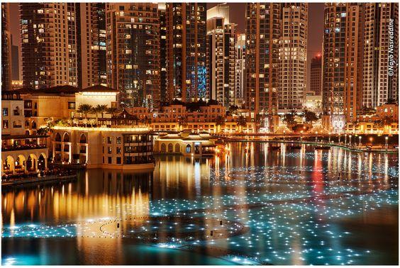 Dubai, United Arab Emirates Stars on The Lake (by Najib Nasreddine)