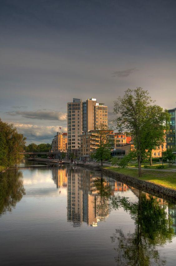 Stångån,  Linköping  Copyright - Per Lindsten
