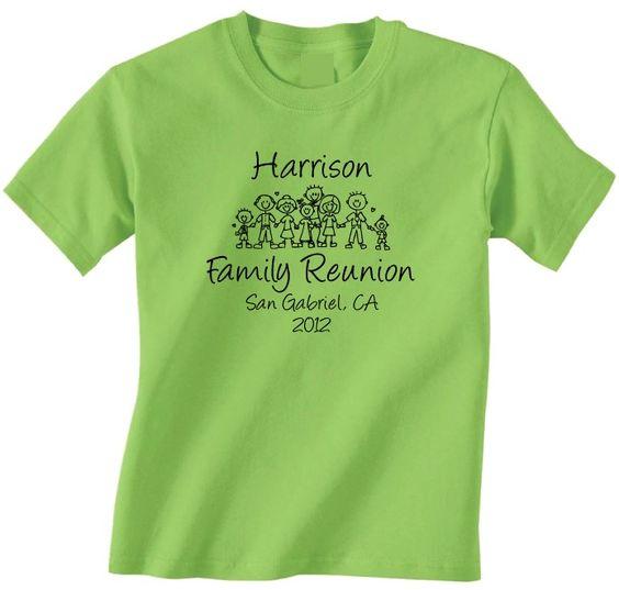 Family Reunion T Shirt Ideas | Home U003e Family Reunion T Shirts U003e Family