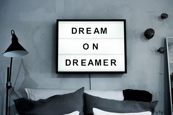 Dream on Dreamer: