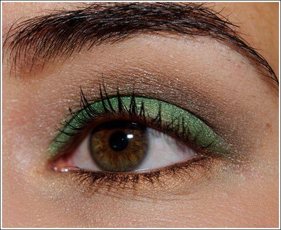 Look: Warm Green & Brown
