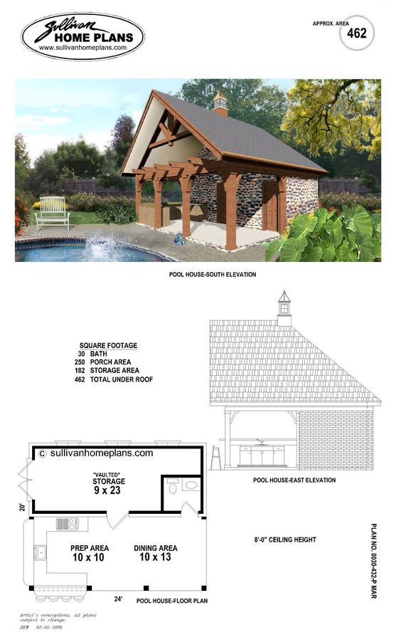 B1 0462 p pool pinterest read more pools and fireplaces for Pool cabana floor plans
