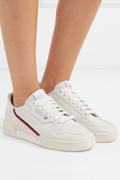 half price innovative design official store adidas Originals | Baskets en cuir à finitions en gros-grain ...