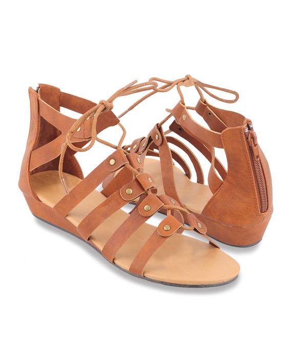 Sandales en simili cuir | FOREVER21 - 2000041252