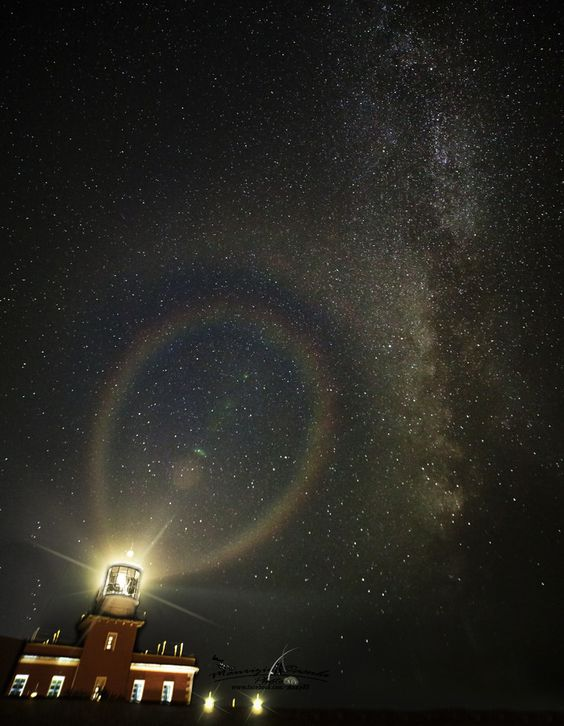 Lighthouse tower Chia  / Milky Way by Maurizio Casula on 500px