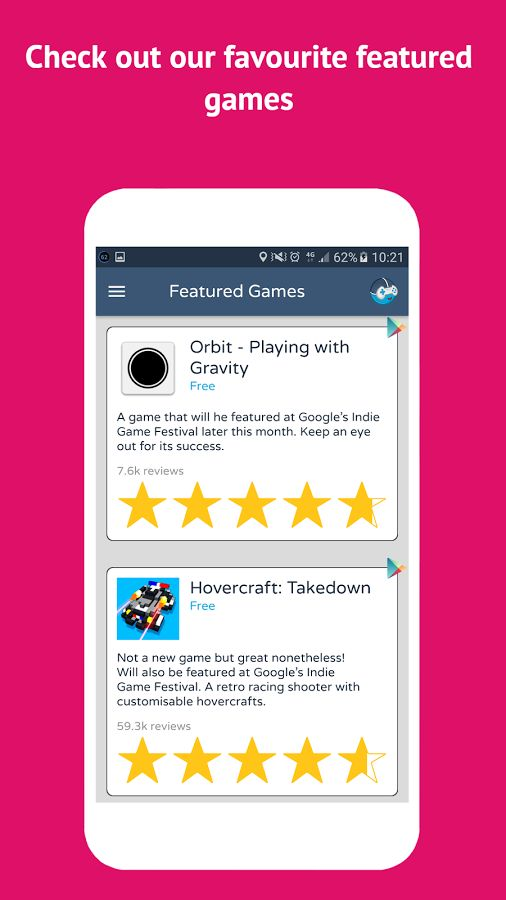 Why not check out our favourite featured games?