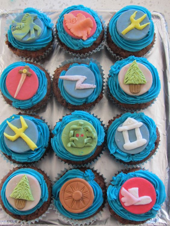 11th Birthday Cupcake And Camp Half Bloods On Pinterest