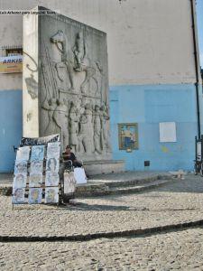 Caminito, La Boca, Buenos Aires. Artistas callejeros.