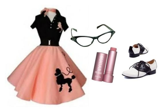 """""""50s girly girl"""" by savannahtaylor950 on Polyvore"""