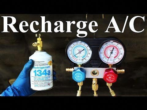 Charging Refrigerant From Your Gauge Hoses Back Into The System Before Disconnecting Explained Youtube Ac System Used Cars Online Repair