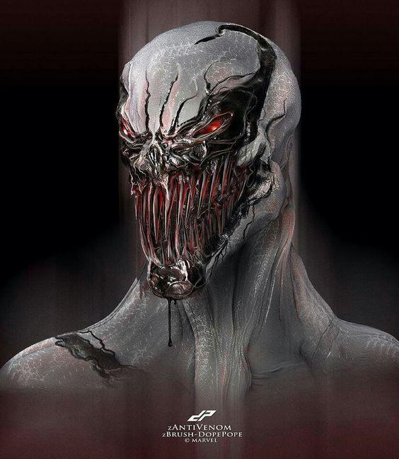 The gallery for --> Anti Venom Concept Art