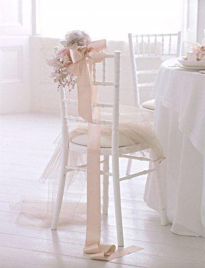 Chair Decor #wedding #sweet15