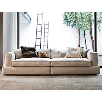 My dream sofa low deep linen Products I Love Pinterest
