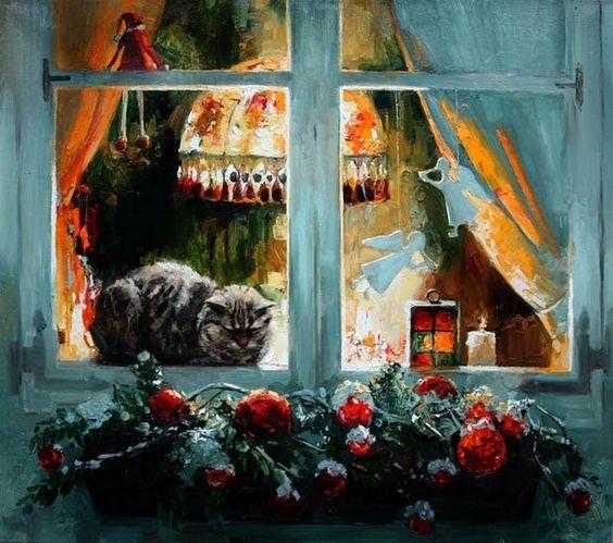 Maria Pavlova  —  Tomorrow was Christmas,  2012  (800x709):