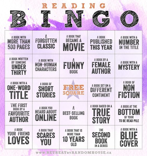Challenge yourself with Reading Bingo 2014