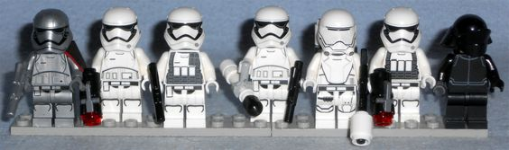 Various Lego Star Wars First Order Stormtroopers