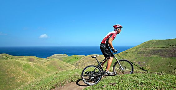 learn to ride a bike and bike around batanes