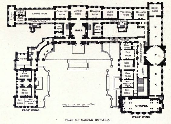 Wings west wing and castles on pinterest for Small castle floor plans