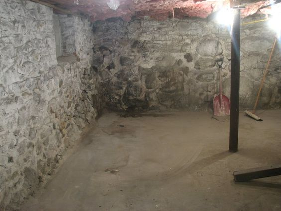 stone basement walls needs to be parged when i get my basement