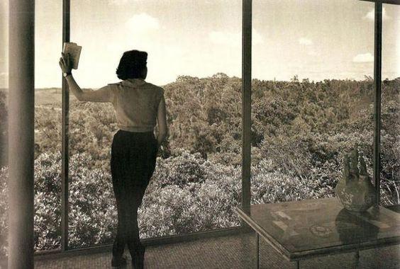 House of Glass by Lina Bo Bardi, São Paulo 1949-1951.