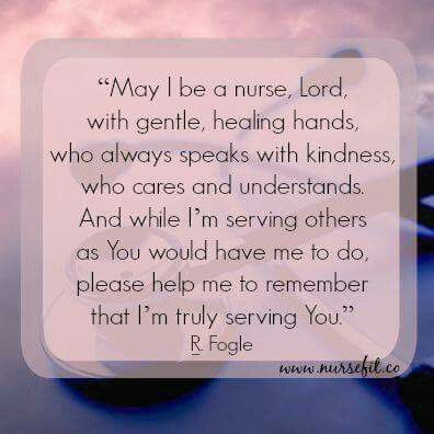 Nurses Prayer