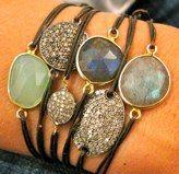 Leslie Offer bracelets