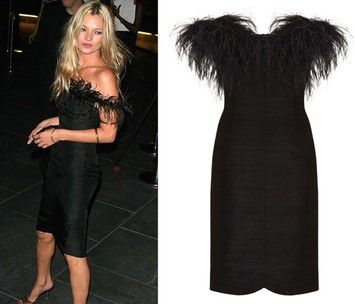 Kate Moss for TopShop Luxury Red Carpet Runway Dress