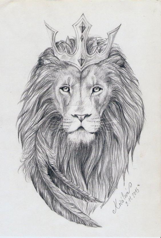 Tattoo Design Lion King By MiraelFaedeviantartcom On