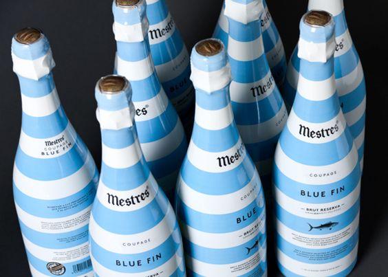Blue Fin by clase bcn, via Behance #vinosmaximum #taninotanino