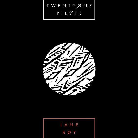 Twenty One Pilots – Lane Boy (single cover art)