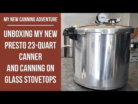 Can I Use A Pressure Canner On My Glass Top Stove Presto