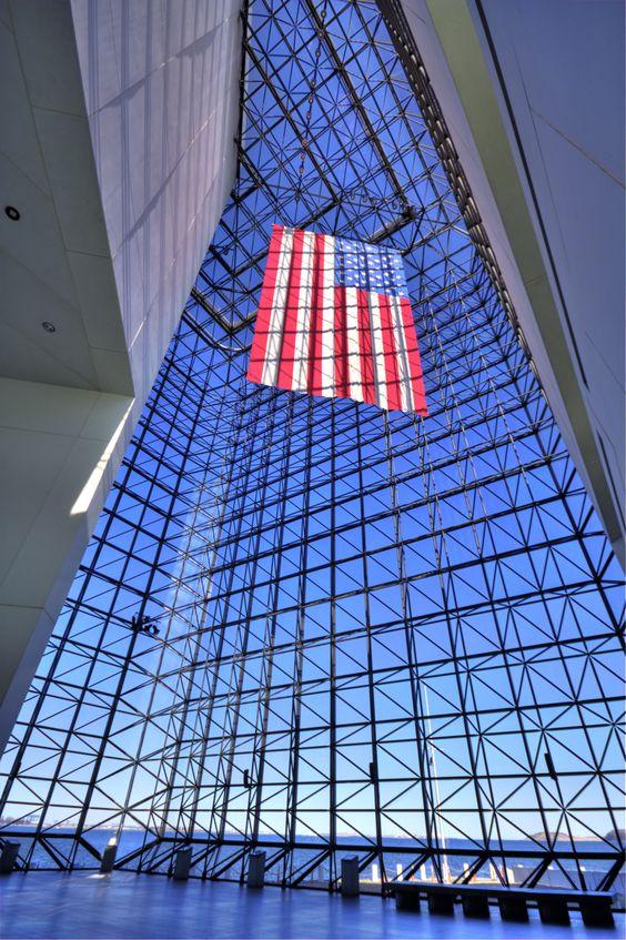 I. M. Pei's John F. Kennedy Presidential Library & Museum, Boston
