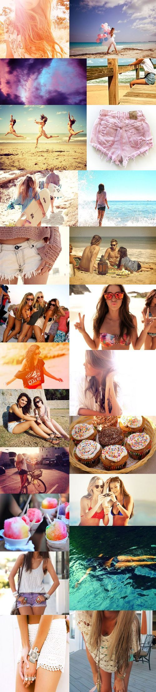 Why did I look up summer pictures, now I'm gonna get too excited too early, it's not even spring yet.