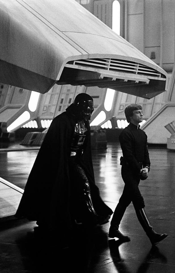 vader emperor relationship