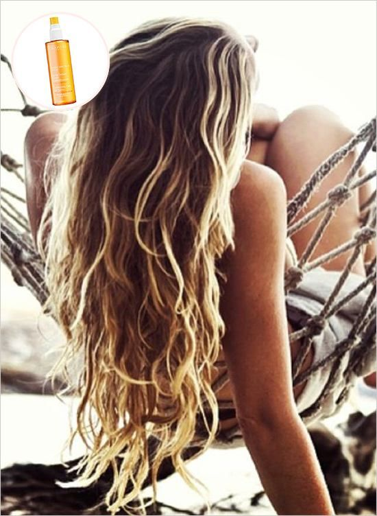2. You will likely anticipate sunburn and be prepared with a strong SPF in hopes to not be in bed all day lobster style! However, are you thinking about your precious locks? Your hair can suffer from sun exposure too, so we recommend this spray. Don't be surprised at the price because this spray offers non-greasy, great smelling coverage to both your body and hair! And after all... beautiful, age defying skin is priceless. Image via Beauty High.