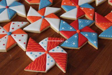 Pinwheel cookies  Windmolen koekjes