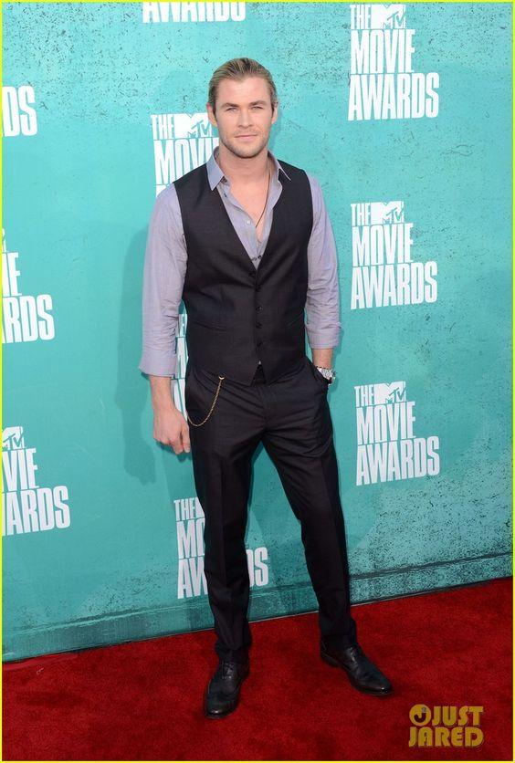 Chris Hemsworth in Hugo Boss