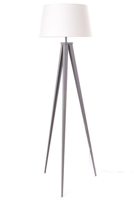 Welton 60 Tripod Floor Lamp Tripod Floor Lamps Floor Lamp Grey Lamp #tall #living #room #floor #lamps