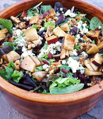candied walnuts spring salad pears salads cheese spring whole foods ...