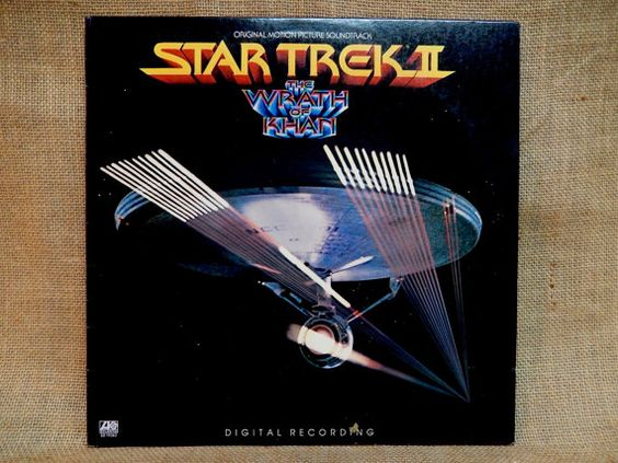 STAR TREK  Star Trek II...Original Motion by thevinylfrontier
