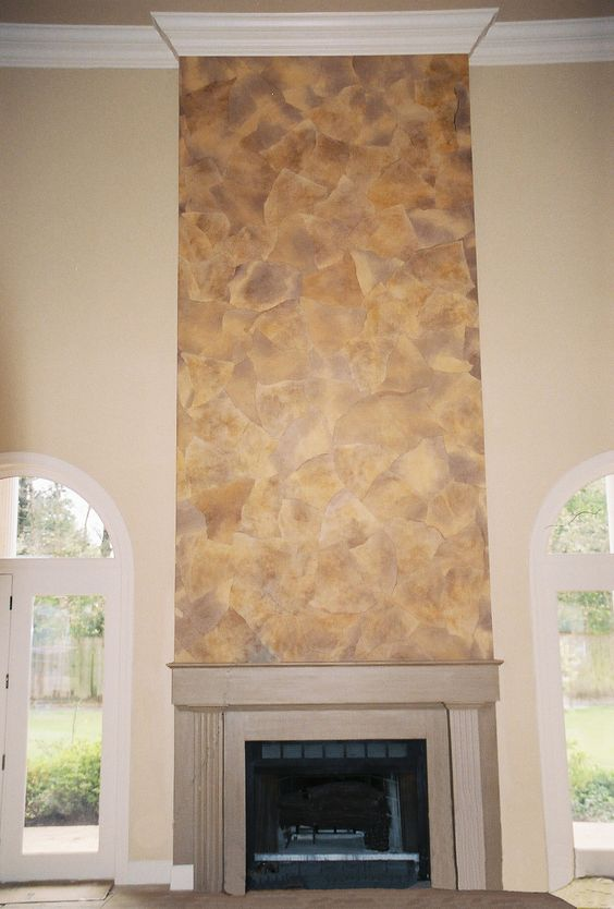 Faux Stone The O 39 Jays And Fireplaces On Pinterest