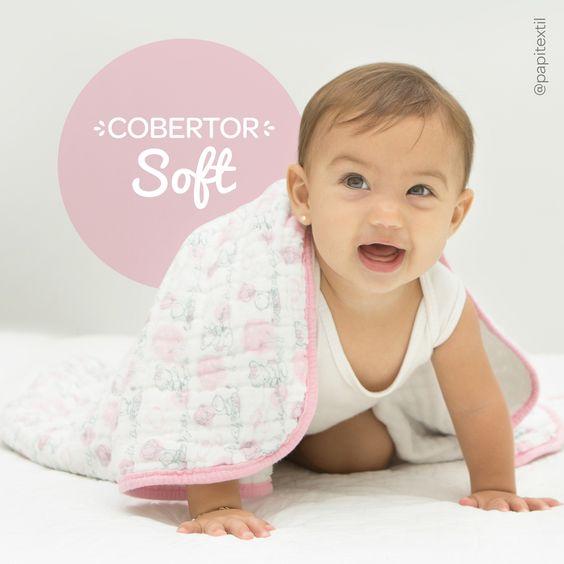 💚 Cobertor Soft - 1,0m x 80cm 💚    Ideal para manter os bebês aquecidos no inverno e frescos no verão, é perfeito para um bom sono durante a noite o nas sonecas durante o dia.    * Embalagem em caixa | 04 camadas de Fralda | Viés de malha    Procure pelo código 4505 e conheça outros temas! Acesse 👉🏻 www.lojapapi.com.br e escolha o seu preferido! 😊😘    #cobertor #soft #cobertorsoft #enxovaldebebe #lojapapi #papitextil #bebe #baby #conforto #mamae