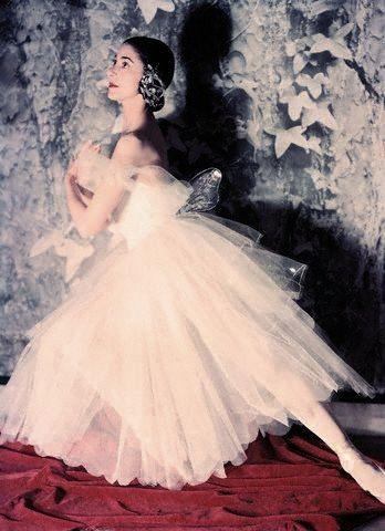 Margot Fonteyn, photographed by Norman Parkinson in  1951.