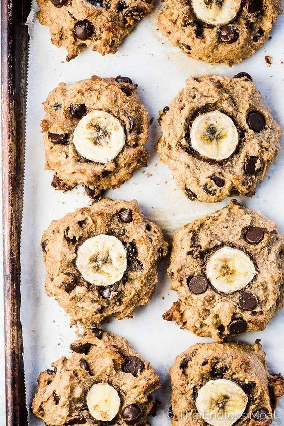 𝓟𝓲𝓷𝓽𝓮𝓻𝓮𝓼𝓽 Ludic Life Paleo Banana Cookies Healthy Cookies Recipes